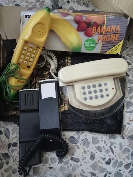 Divertidos teléfonos