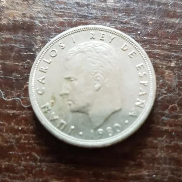 España. cinco pesetas 1980. estrella 81 mundial 82