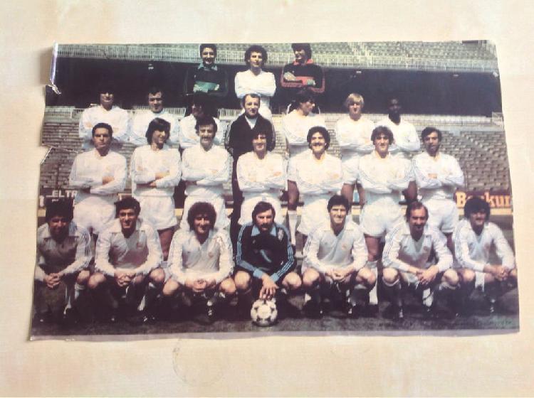 Foto real madrid 1981