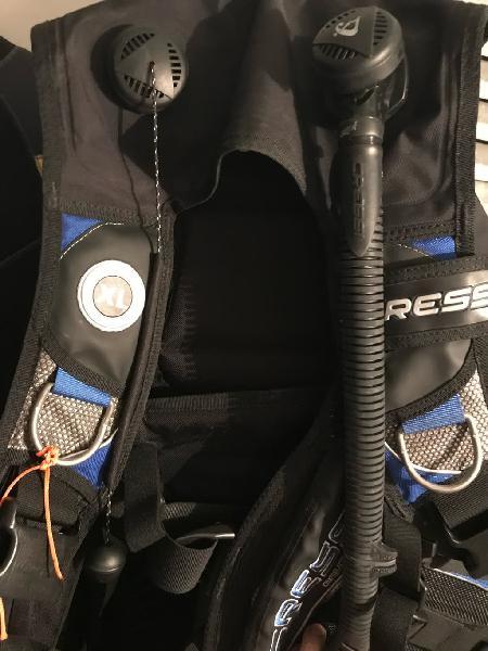Jacket de buceo Cressi Aquapro S