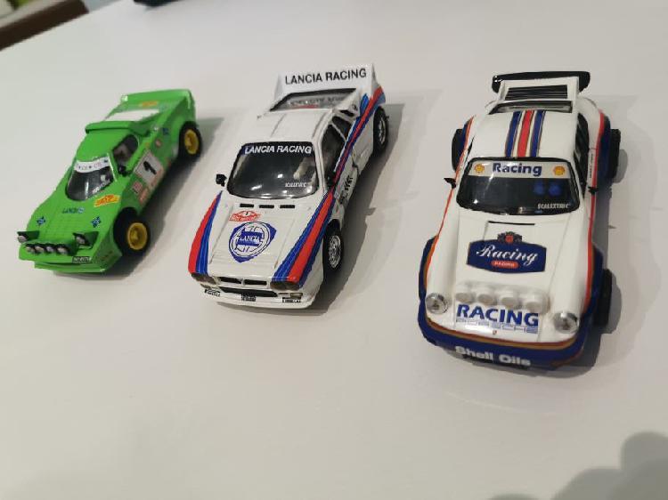 Lote 3 coches scalextric 1/32 nuevos oferta!!
