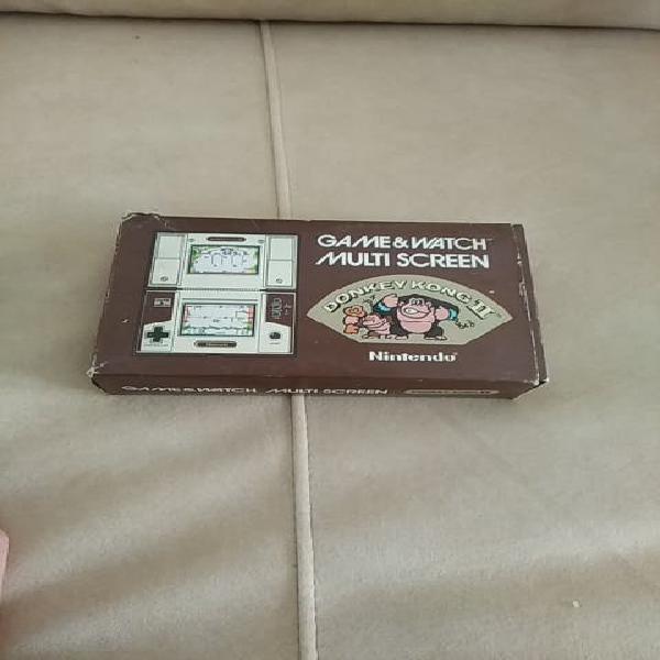 Nintendo game&watch donkey kong ii