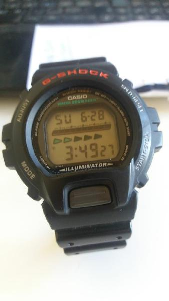 Reloj casio g-shock dw-6600 modulo 1199