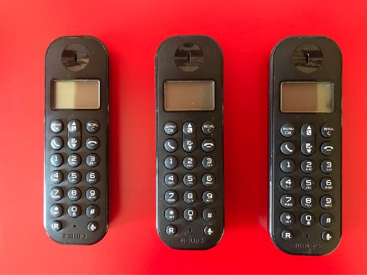 Telefonos inalámbricos philips