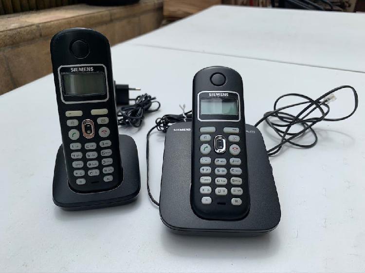 Teléfonos inalámbricos siemens gigaset al270 dúo