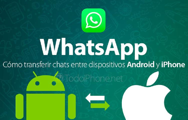 Whatsapp de android a iphone o de iphone a android