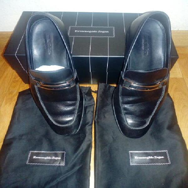 Zapatos piel ermenegildo zegna hombre numero 44