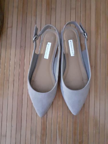 Zapatos planos de vestir planos
