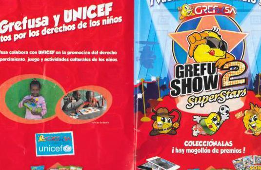 Album de grefusa grefu show 2 completo