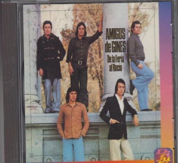 Amigos de ginés cd de la feria al rocío 1994 serie
