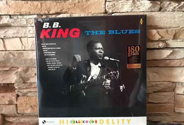 B. b. king - the blues (lp) 180 gr. nuevo