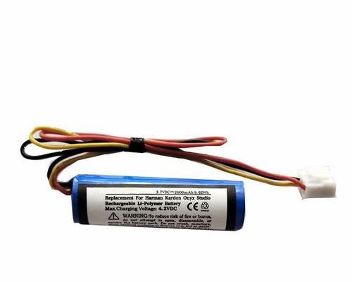 Batería li-ion 3.7v 2600mah para altavoz bluetooth harman