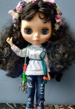 Blythe con ropa handmade