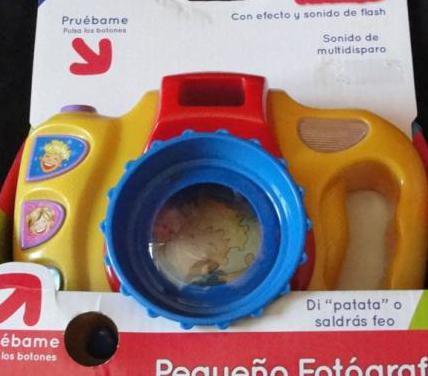 Camara de fotos de juguettos - nenittos - nueva -