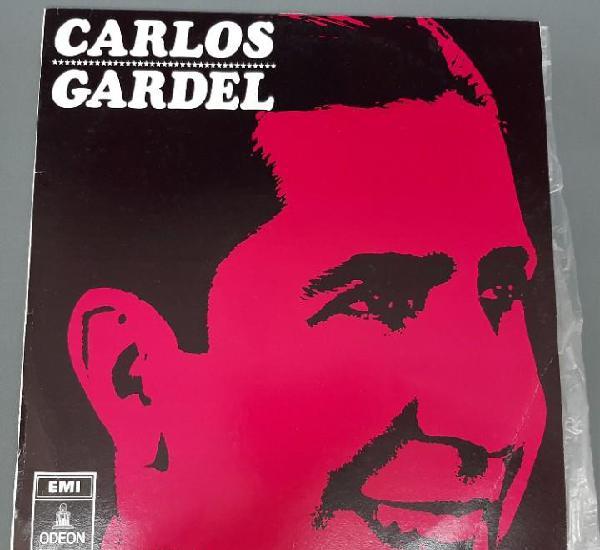 Carlos gardel acomp. guitarras - lp - 1966 odeon mocl 5301