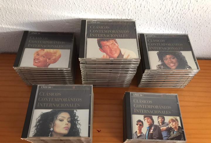 Cds - colección completa - clásicos contemporáneos
