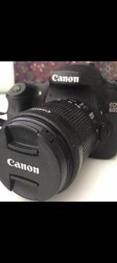 Cámara de fotos canon eos 60d