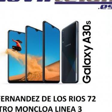 GALAXY A30S 64GB NEGRO NUEVO SOLO ABIERTO GARA...