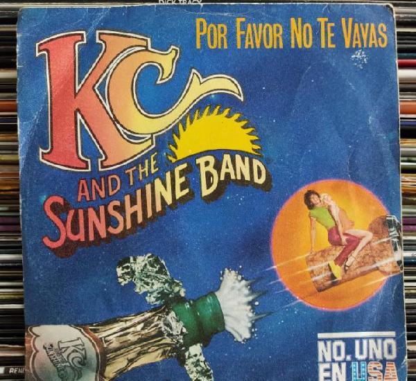 "Kc and the sunshine band - por favor no te vayas (7"","