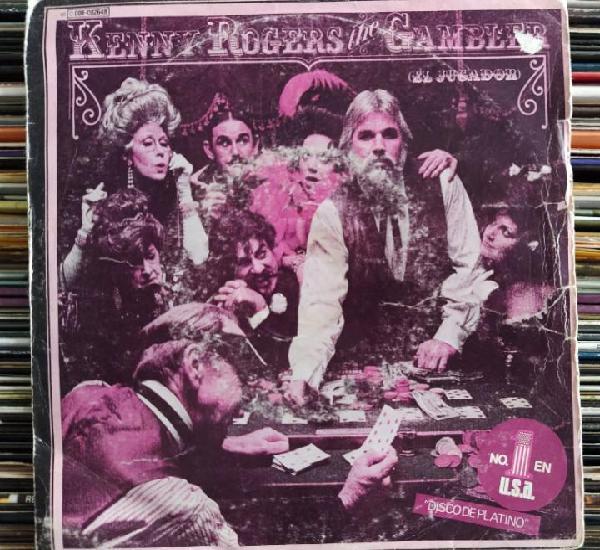 """Kenny rogers - the gambler = el jugador (7"""", single)"""