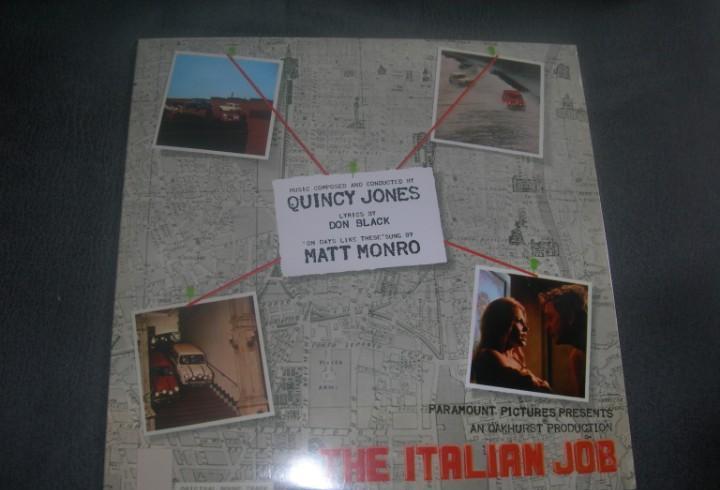 Lp quincy jones-italian job nuevo 2014
