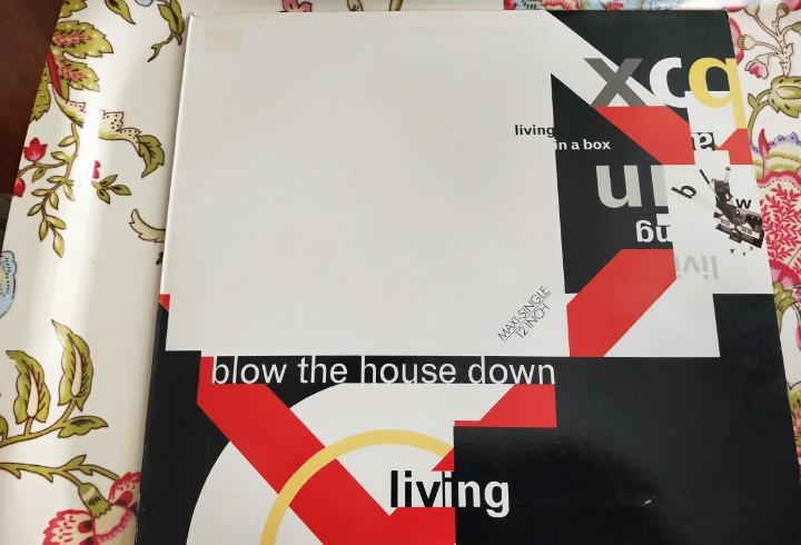 """Living in a box - blow the house down (12"""", maxi)"""