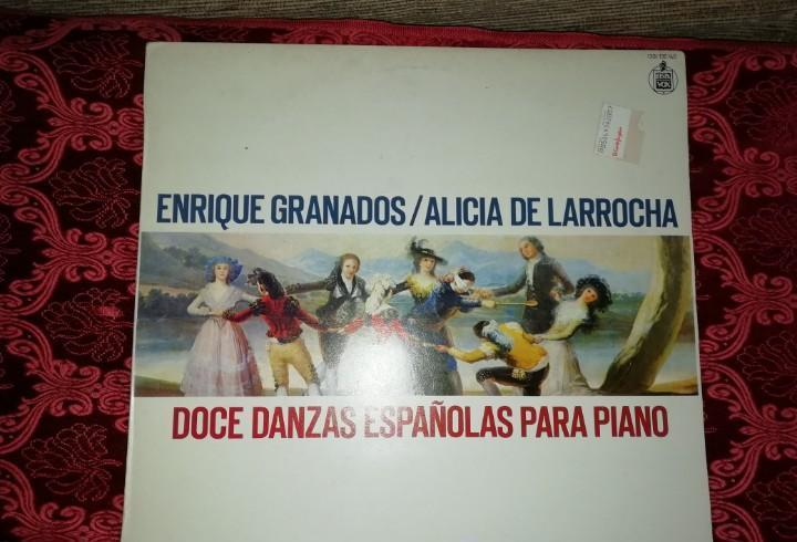 Lp enrique granados alicia de larrocha doce danzas