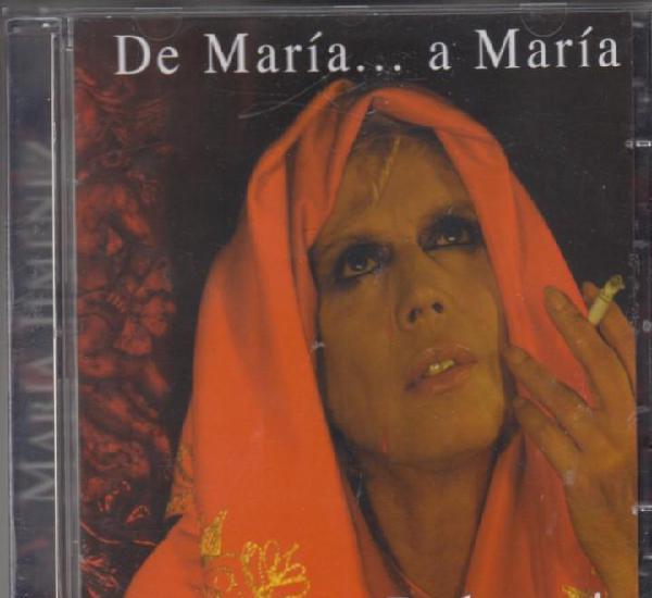 María jiménez cd de maría a maría con sus dolores 2003