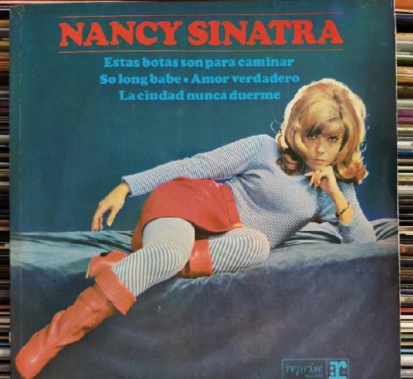 """Nancy sinatra - estas botas son para caminar (7"""", ep)"""