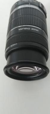 Objetivo canon 55-250 4-5.6 is 2filtros