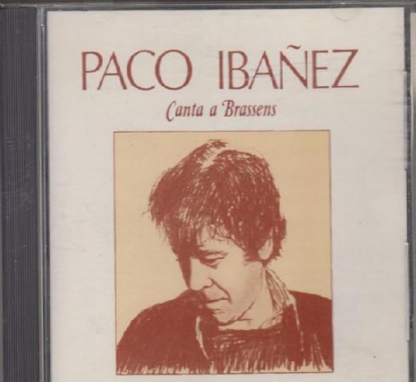 Paco ibáñez cd canta a brassens 1988 ariola (primera