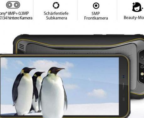 Resistente teléfono móvil 4x4