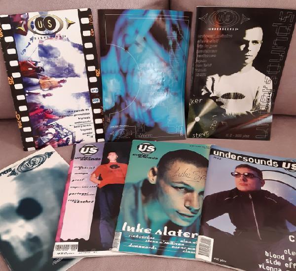 Revistas undersounds us techno madrid