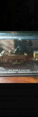 Tanque miniatura con remolque