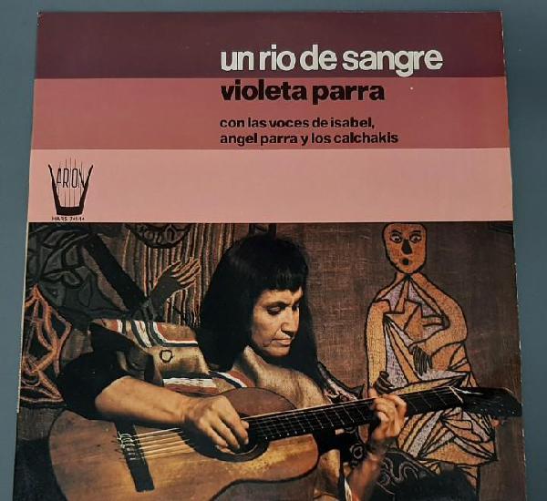 Violeta parra - un rio de sangre - lp - 1975 arion