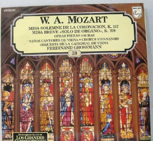 W.a.mozart - los grandes compositores - nº 39 - misa