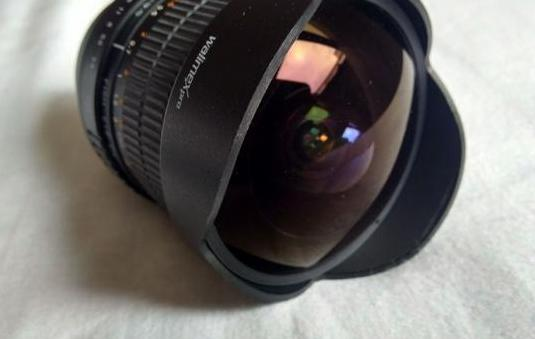 Walimex fisheye 8mm f: 3.5 canon
