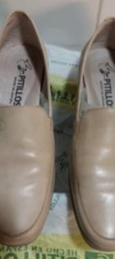 Zapatos mujer pitillos nº 39 color crema