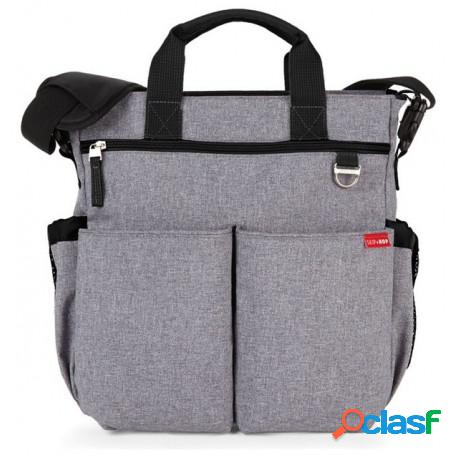 Skip hop - bolso skip hop duo heather gray