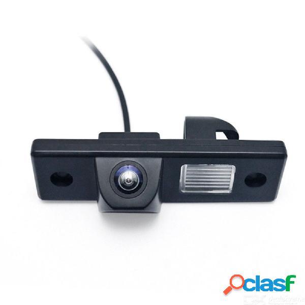 Vista trasera del auto cámara de respaldo asistencia de estacionamiento con visión nocturna de 170 grados para chevrolet aveo / captiva / cruze / epica / orlando