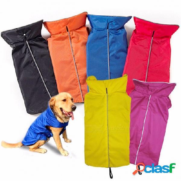 Chaleco impermeable para perros, chaqueta, ropa para mascotas, otoño e invierno, abrigo de perros grande.