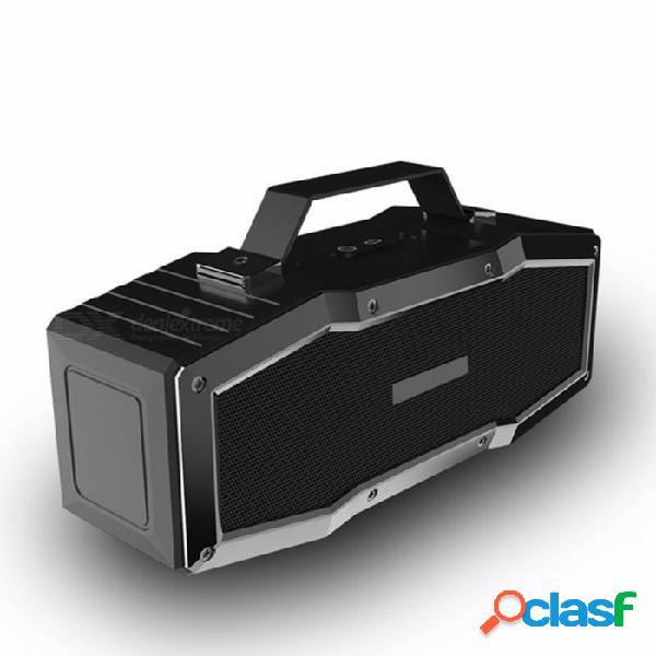 Altavoz a prueba de agua del bluetooth de a9 ipx6, altavoz inalámbrico portátil al aire libre, sistema de sonido envolvente de la música estérea 3d rojo / altavoz