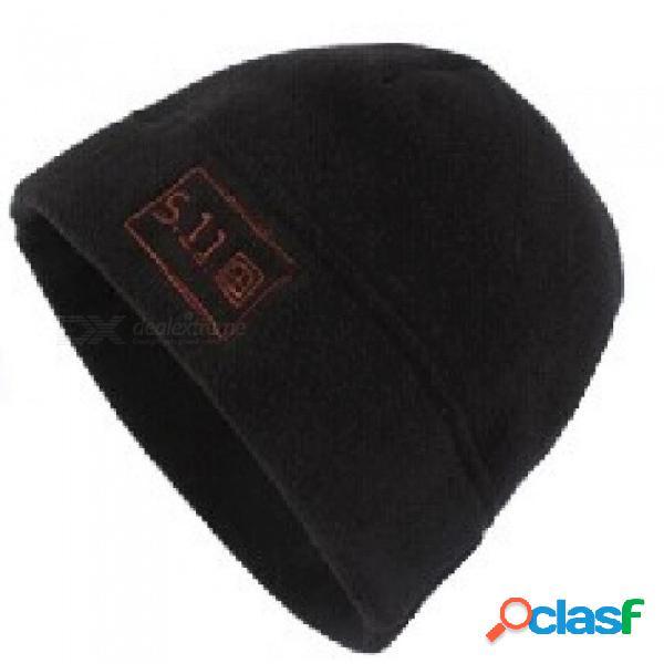 Gorro de lana de alta densidad de invierno, cálido, a prueba de frío, sombrero de caza, transpirable, perfecto para caminatas al aire libre, pesca, actividades de escalada, tamaño promedio /