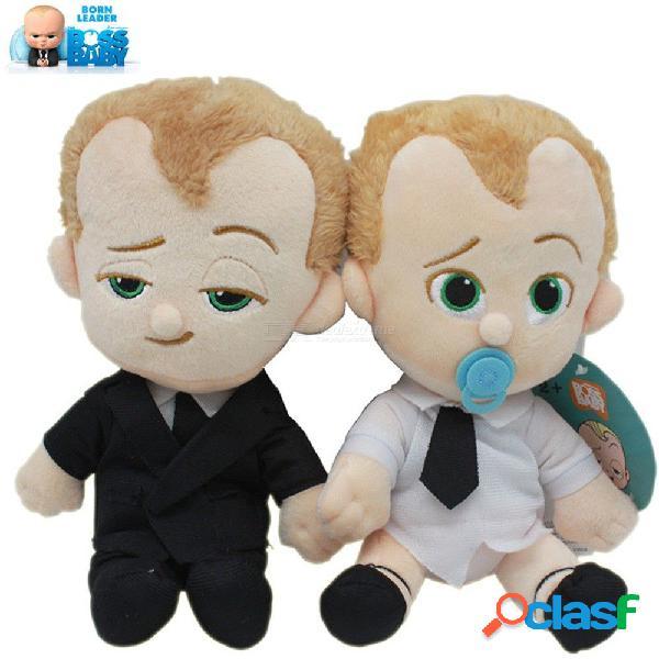 El jefe nacido bebé líder juguete de peluche traje pañal bebé mascota peluche juguetes de dibujos animados muñeca