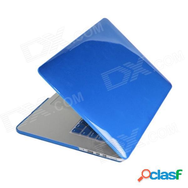 """Enkay funda protectora para pc de cuerpo entero para """"macbook pro de 13 pulgadas con pantalla retina"""" - azul translúcido"""