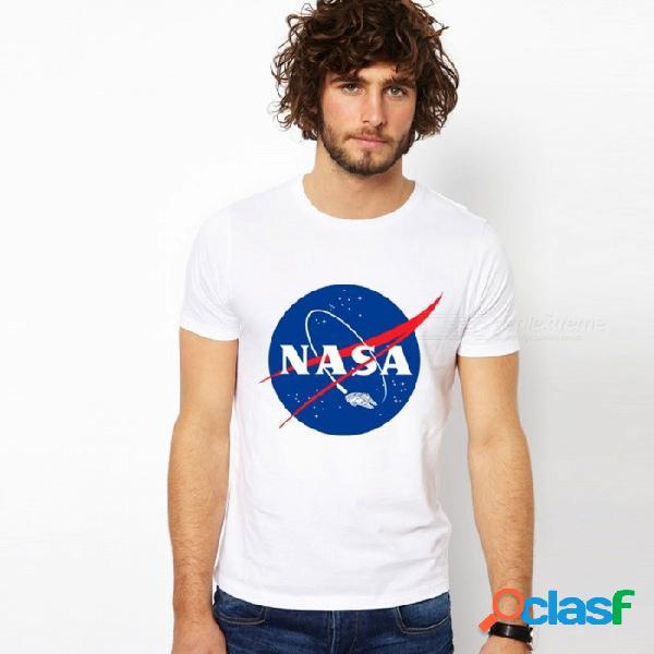 Ee. uu. astronauta impresión camiseta constelación moda traje espacial vía láctea gloriosa vista hombres mujeres camiseta camiseta