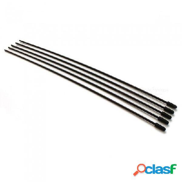 Antena plástica del tubo de la antena plástica del receptor w / cap para los receptores 2.4ghz1 / 5 1/8 1/10 repuestos del coche de rc multi