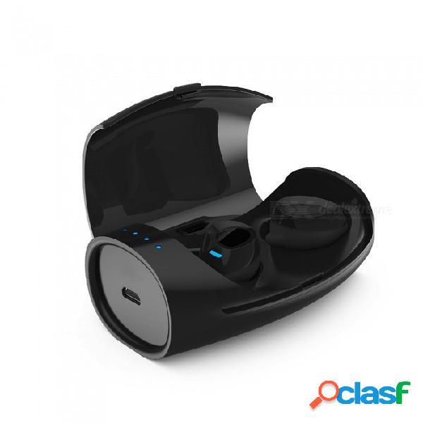 Jedx es60 tws bluetooth auricular deportivo con auriculares v4.2 + caja de carga para iphone samsung htc y más