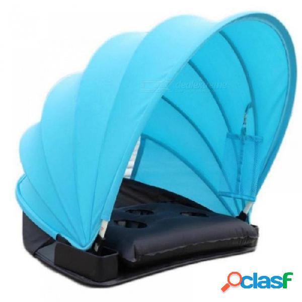 Sombrilla protección solar tienda personal sombrilla plegable sombrilla mini sombrilla de playa con almohada manta bolsa de transporte púrpura