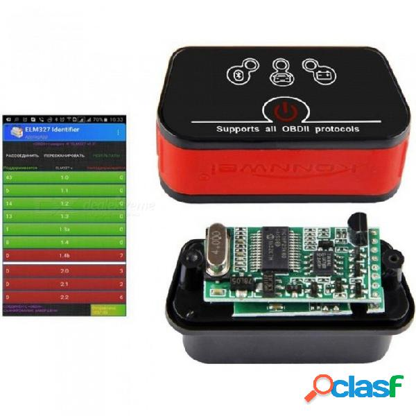 Wifi eml327 v1.5 icar2 escáner de diagnóstico automático obd2 wifi escáner automático odb ii eml 327 para iphone elm 327 escáner automotriz naranja negro